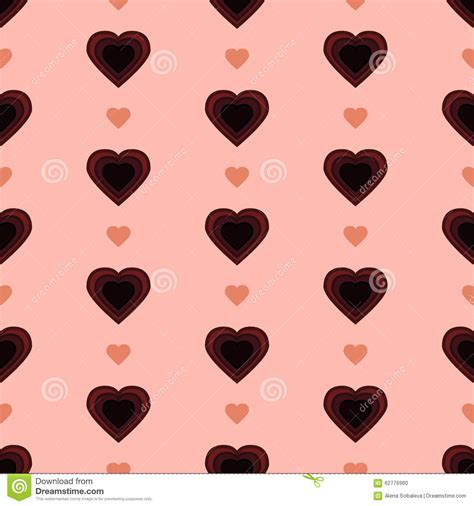 dot pattern heart polka dot heart stock illustration image 62776960