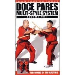 Multi System Eskrima Kali Arnis Vol 1 Dvd doce pares multi style system volume 1 kali arnis esgrima felix roiles