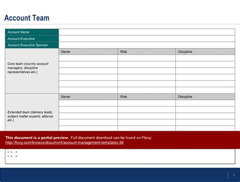 account management templates powerpoint slideshow view