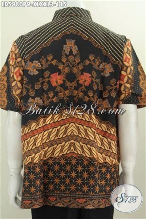 desain baju batik pria elegan baju kemeja batik modis motif mewah desain rapi dan elegan