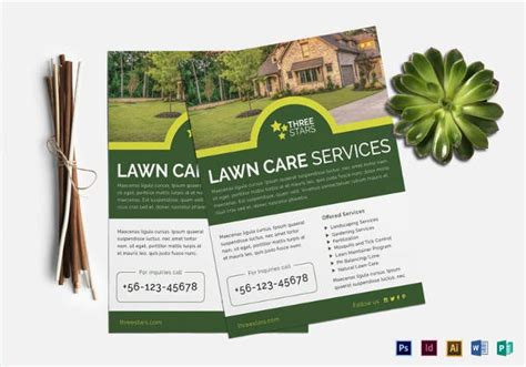 Lawn Care Flyers 28 Free Psd Ai Vector Eps Format Download Free Premium Templates Free Lawn Care Flyer Templates Word