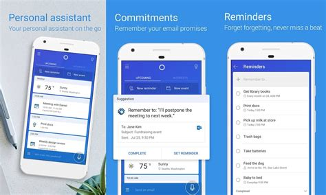 cortana for android cortana gets a major update on android with ui changes