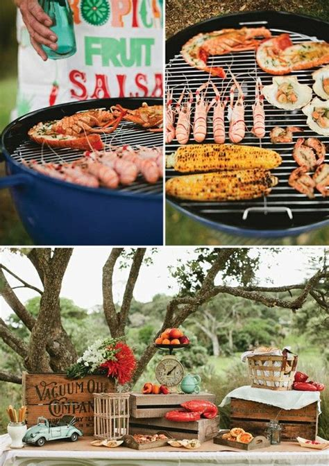 Three Wedding Reception Menu Ideas Part 2 Backyard Backyard Bbq Menu Ideas