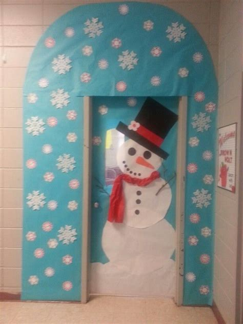 winter classroom door decorating ideas winter door decorating in kindergarten just b cause