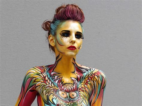 world bodypainting festival austria 11 photos from the world bodypainting festival in
