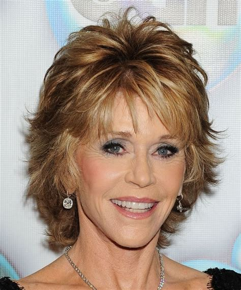 feathery haircuts for mature women short feathered hairstyles for older women short