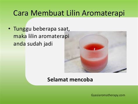 Awake Candle Essential Lilin Aromaterapi cara membuat lilin aromaterapi gyasi aromatherapy