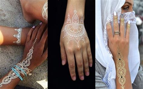 white henna tattoo near me from minimal to intricate ideas the most popular mehendi