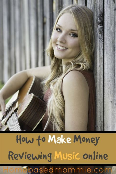How To Make Money From Music Online - how to make money reviewing music online homebasedmommie