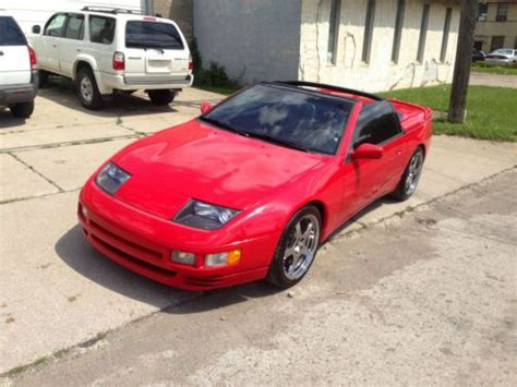 nissan 3000gt buy used 1993 nissan 300zx convertible 5 speed like