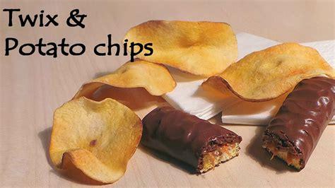 Potato Tutorial by Realistic Polymer Clay Twix Potato Chips Tutorial