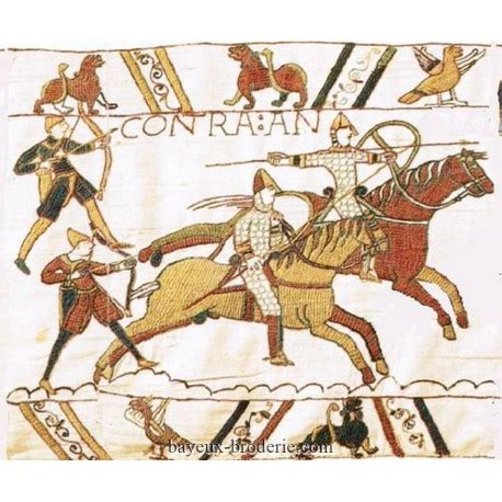 Tapisserie De Bayeux Reproduction by Broderie Au Point De Bayeux Kit 224 Broder Cavalerie Hastings