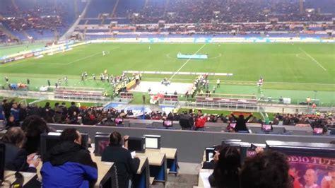 ingresso tribuna monte mario roma vs torino 2012 zio baratta in tribuna sta all