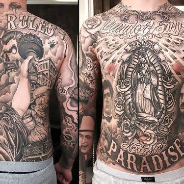 chicano tattoo full body we re all mad here tattoo idea