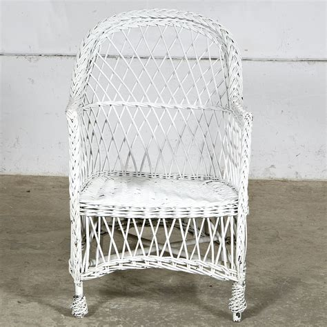 white wicker settee white wicker settee chair pair omero home