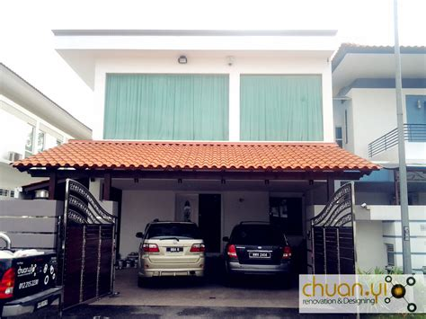 metal car porch chuan yi construction renovation sdn bhd car porch