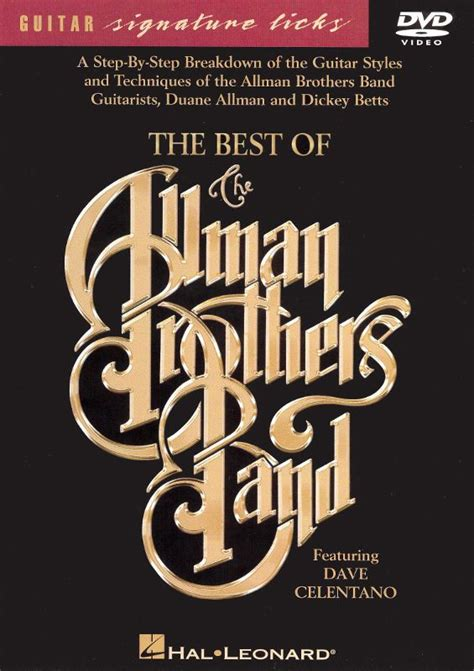 the best of the allman brothers band the best of the allman brothers band dvd best buy