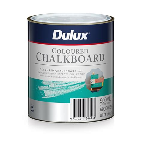 dulux chalkboard paint voc dulux 500ml ultra design coloured chalkboard paint