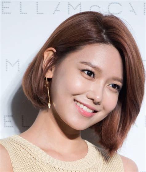 gaya terkini  model rambut pendek  ala korea