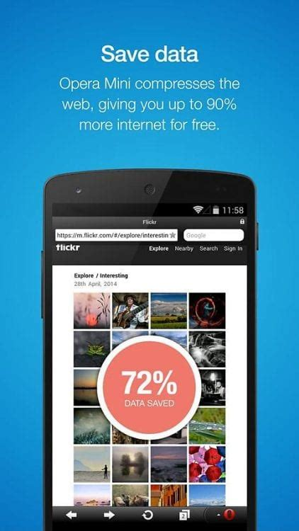opera mini returns to the tizen store its faster and