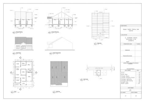 membuat imb bangunan lama gambar imb arsitek rumah