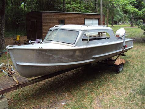 aluminum runabout boat for sale crestliner voyager hardtop 1956 boat boat aluminum