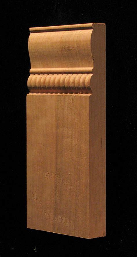 decorative wood corner blocks rosettes plinths