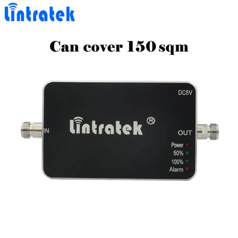 mobile phone signal repeater lintratek 850mhz repetidor gsm cell booster 850 mhz 65db