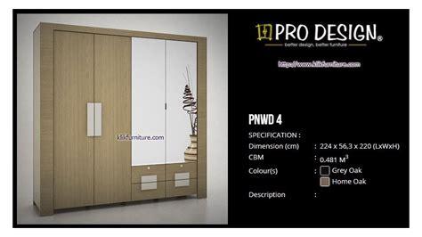 Pro Surabaya lemari 4 pintu pnwd 4 prodesign harga termurah
