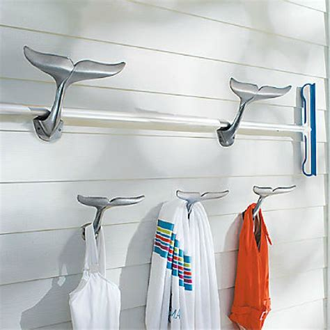bathroom tail frontgate whale hooks http www frontgate com whale tail