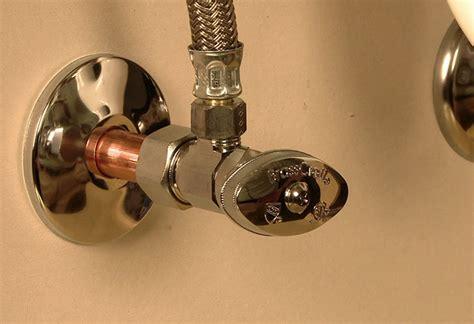 installing shutoff valves   home depot
