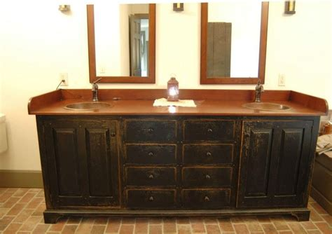 primitive country bathrooms bathroom vanities and