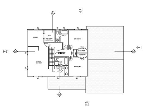 floor plan autodesk revit house bim course at spscc on behance