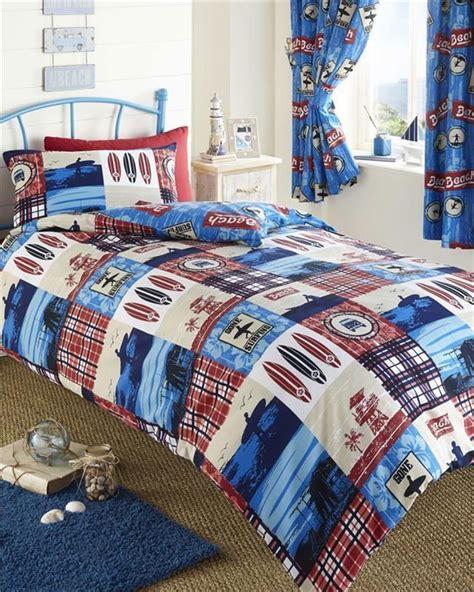 Surf Bedding Sets Duvet Quilt Cover Boys Bedding And Or Curtains Surf Themed Bed Set Surfer Room