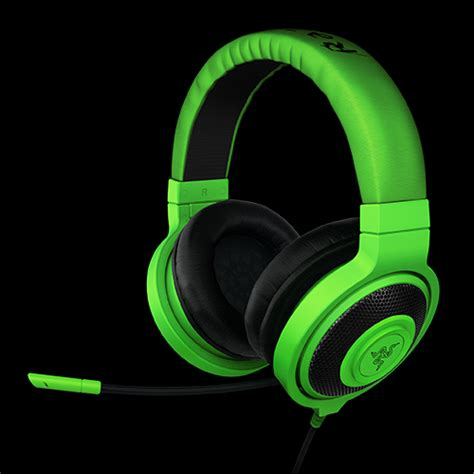 Headphone Gaming Razer Razer Launches Kraken Gaming Headsets Pro Has A Pull Out Mic