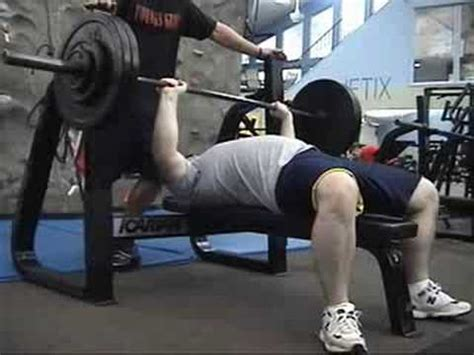 pause reps bench press 250 x 3 reps bench press 3 second pause reps youtube