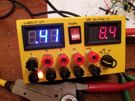 bench power supply diy my diy bench power supply swharden com