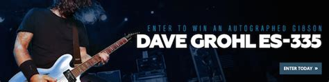 Zzounds Giveaway - win a gibson dave grohl es 335