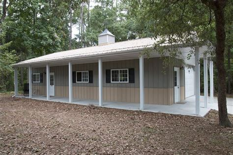 Garage Storage Jacksonville Fl Morton Buildings Garage With Attached Office In