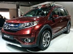 honda new 7 seater car omg honda cars india unveils 7 seater br v auto expo