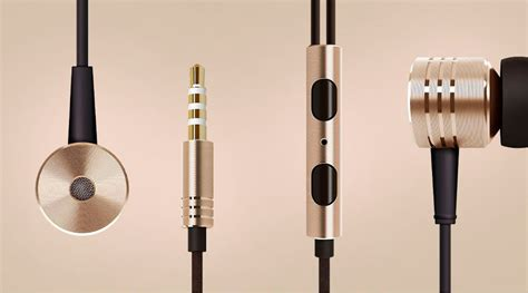 Hendset Xiomi Piston 2 xiaomi mi piston v2 in ear headphones gold specifications photo xiaomi mi