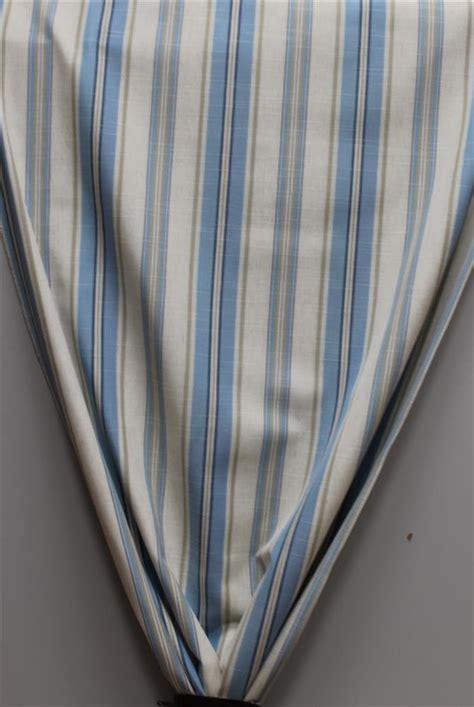 gardinen blau beige deko stoffe gardine vorhang landhaus l 228 ngsstreifen blau