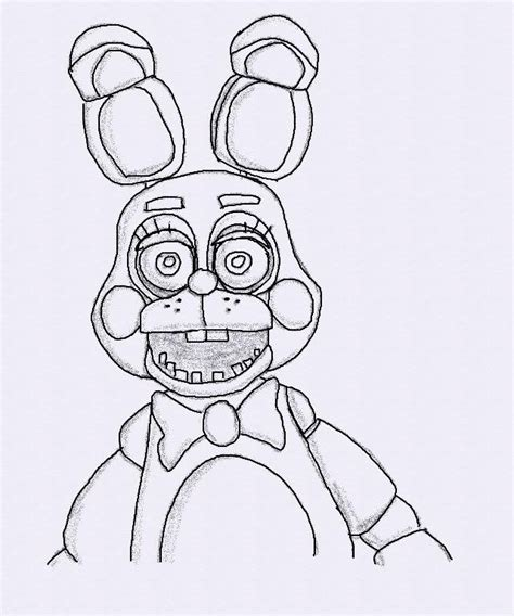 Fnaf 2 Coloring Pages by Free Coloring Pages Of Bonnie Fnaf 2