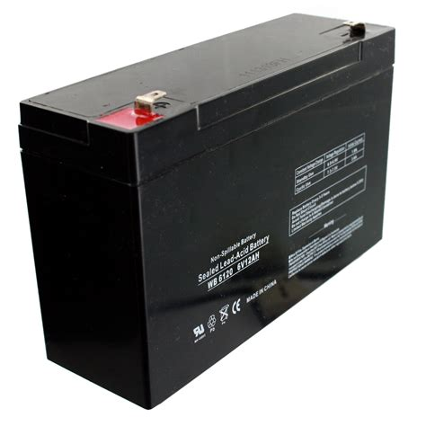 Motorrad Batterie 6v by Kids Ride On Motorcycle Cars 6v Toy Battery Replacement