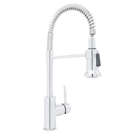 mirabelle kitchen faucets mirabelle mirxcps101cp polished chrome presidio kitchen