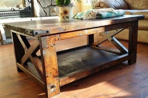 17 best ideas about rustic coffee tables on