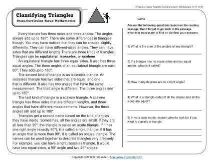 classifying triangles k12 reading