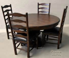 Dining Rooms With Round Tables by Dining Room Tables Large Round Dining Table French Country