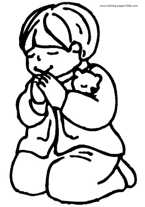 coloring page girl praying girl praying color page praying color page coloring