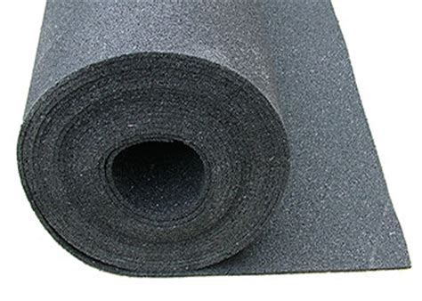 Linoroll impact absorbing underlay beneath lino and vinyl